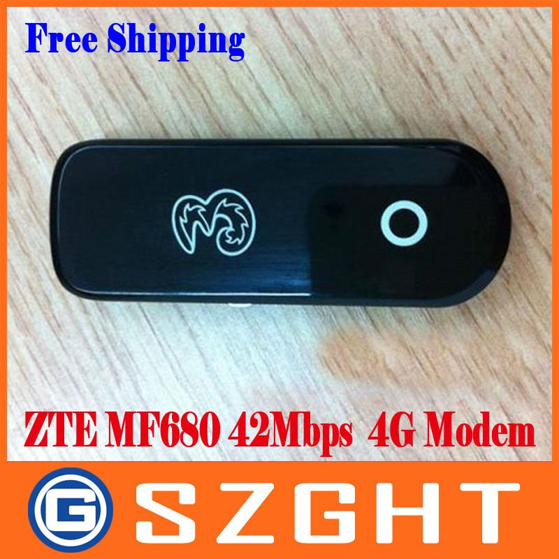 Free shipping unlocked ZTE MF680 42Mbps wireless network card 4G modem HSPA+
