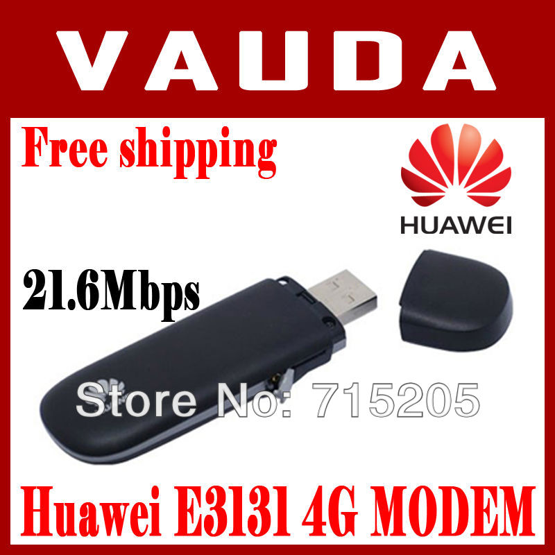HUAWEI E3131 - 4G 3G 21M USB Dongle E3131 HUAWEI Modem, Unlocked E3131 Free shipping HK Post by wang