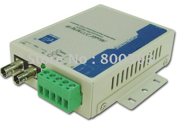 2 pcs/lot,RS484/422 to Fiber Converter,Serial to Fiber Converters,20KM
