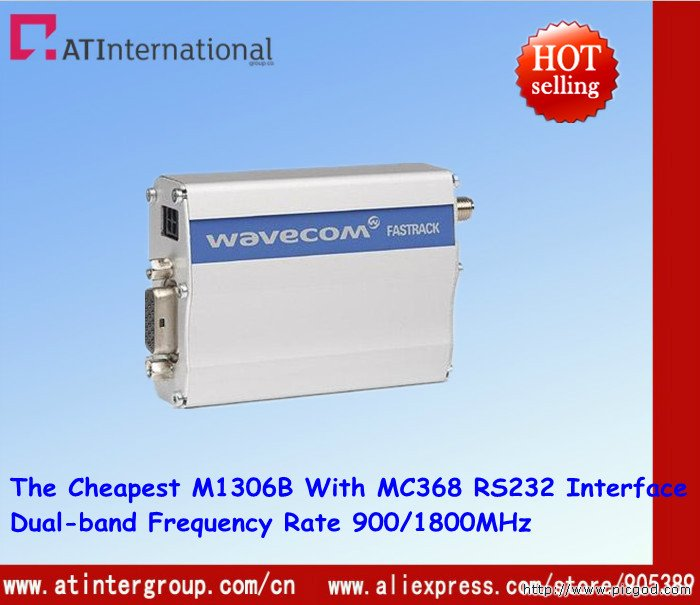 Free Shipping ! Cheapest M1306B With MC368 Module RS232 Interface No GPRS Function