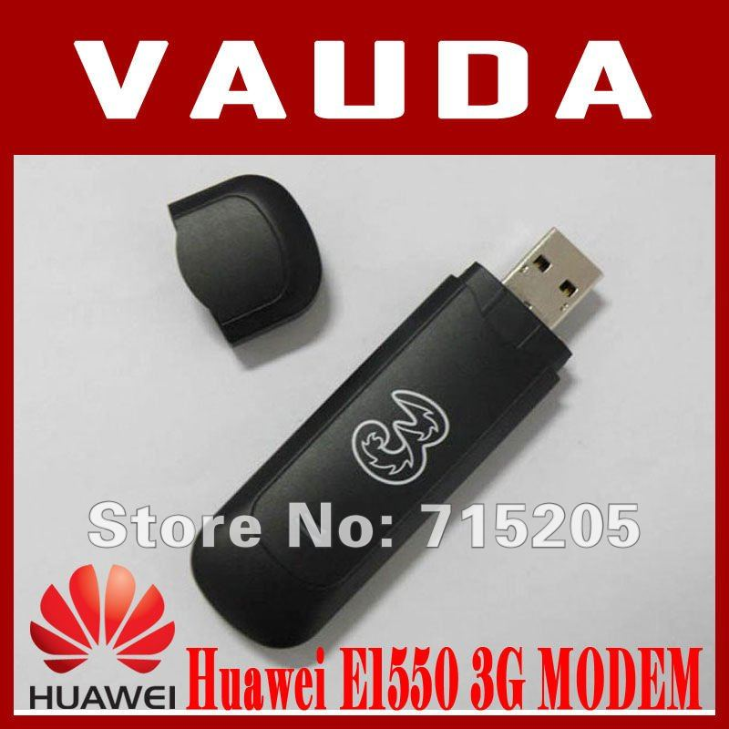 Unlocked Huawei E1550 USB Modem 3G Wcdma Wireless 3.6Mbps 2100Mhz Hsdpa