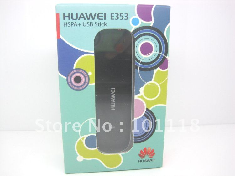 Freeshipping by DHL/EMS New original HuaWei E353 3G Wireless Modem 21.6Mbps
