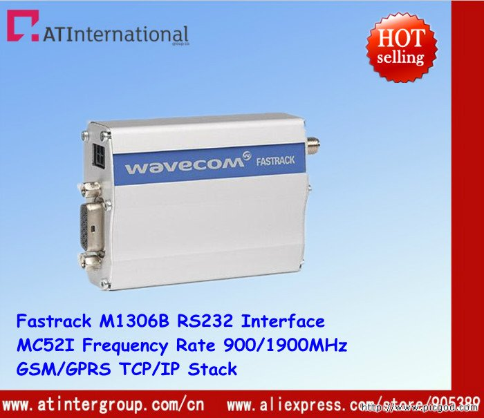 Free Shipping ! GSM/GPRS M1306B With MC52i Module RS232 Interface 900/1900MHz