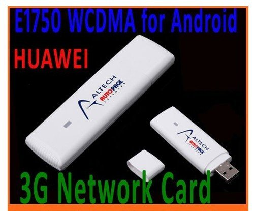 Huawei E1750 WCDMA 3G Wireless Network Card USB Modem Adapter for PC Tablet SIM Card HSDPA EDGE GPRS Android System Support  5pc