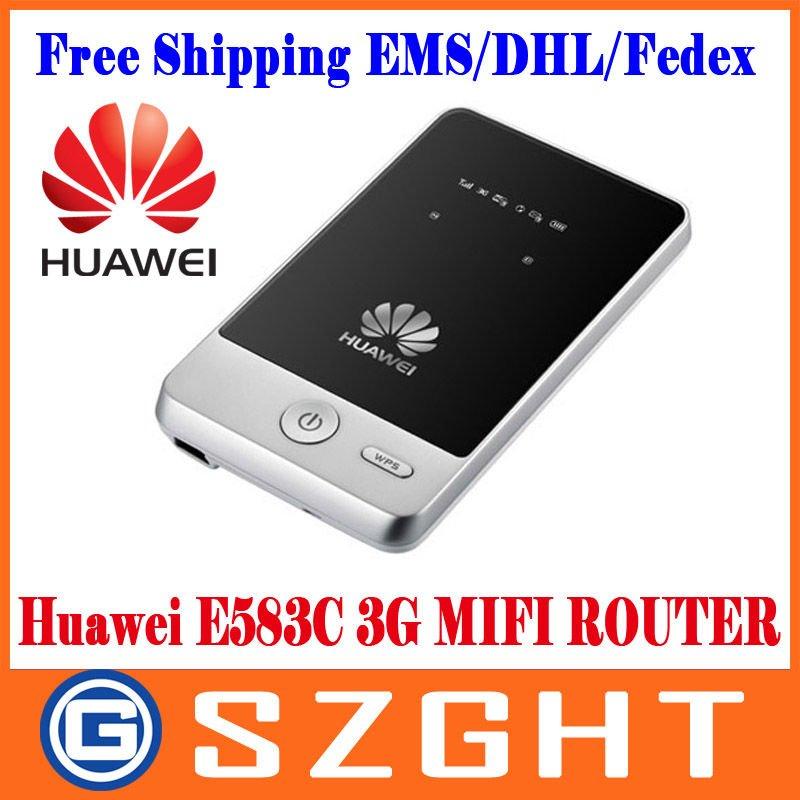 UNLOCKED HUAWEI E583C Portable 3G HSDPA MIFI WIFI Mobile Broadband Wireless Modem Router 7.2MBPS Dropshipping