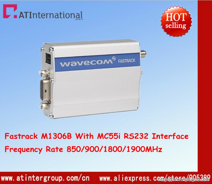 Free Shipping ! GSM/GPRS M1306B With MC55i RS232 Interface Quad-band 850/900/1800/1900MHz