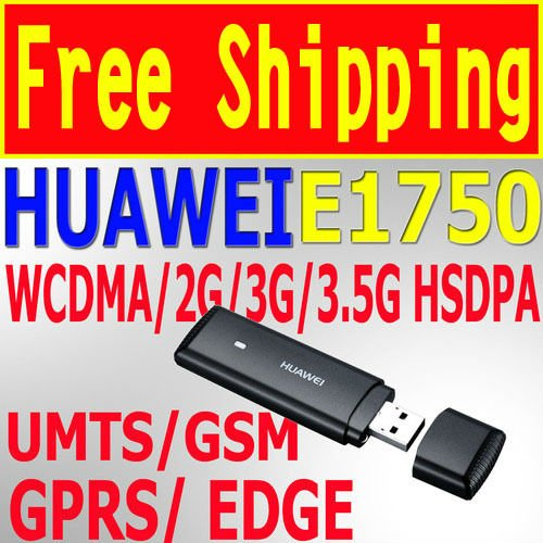 Huawei E1750 3G Unlocked Wireless Hsdpa 7.2M Modem Network Card USB Modem SIM Card HSDPA EDGE GPRS GOOD THAN HUAWEI E220