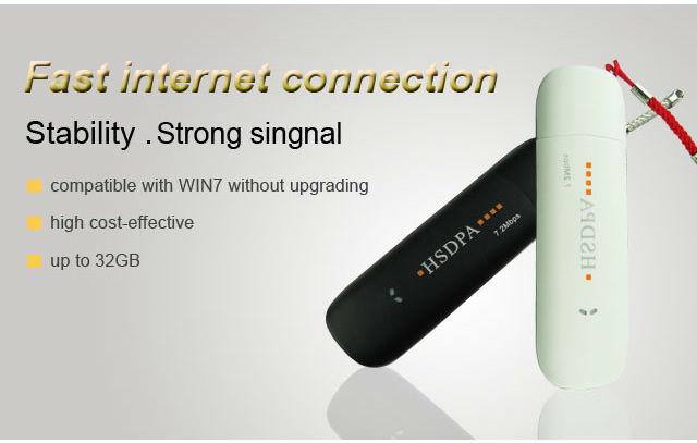 3G HSDPA 7.2 USB Wireless Modem support Mac OS 10.7