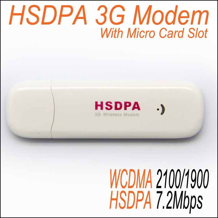 Unlocked Quad-band 3G HSDPA Modem Wireless USB Broadband 3G Wireless Modem