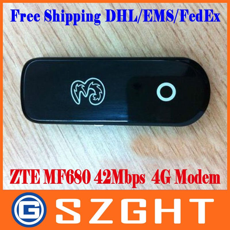 New ZTE Rose Queen MF680 HSPA+ Modem 10pcs/Lot Free shipping DHL/EMS/FedEx