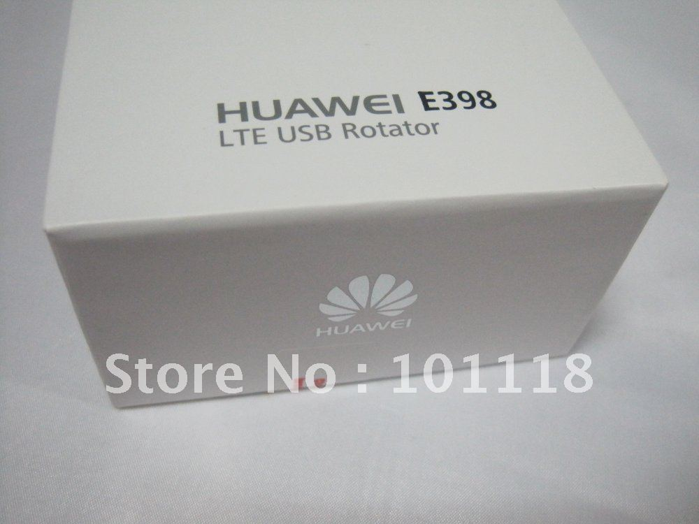 Freeshipping by DHL Global mail New HuaWei E398 4G LTE test special Modem 100Mbps wireless unlocked WIFI (2G 3G 4G)