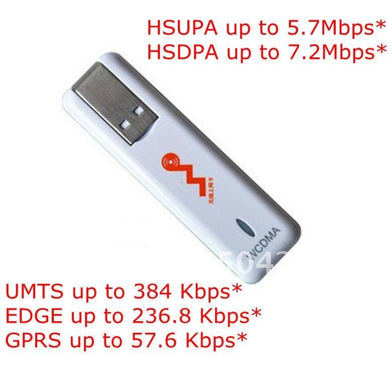 HSDPA/HSUPA/UMTS 3G/2G Modem ZTE MF633,