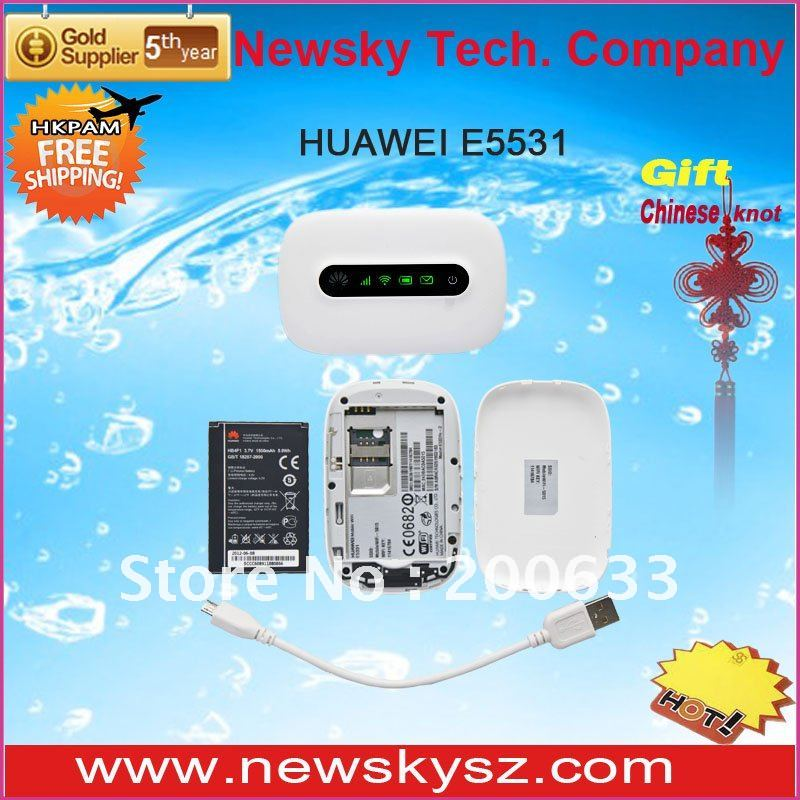 Revolutionary Design LED Display 1500mAH Battery 21.6Mbps HSPA+ HUAWEI E5331 Hongkong Post Free