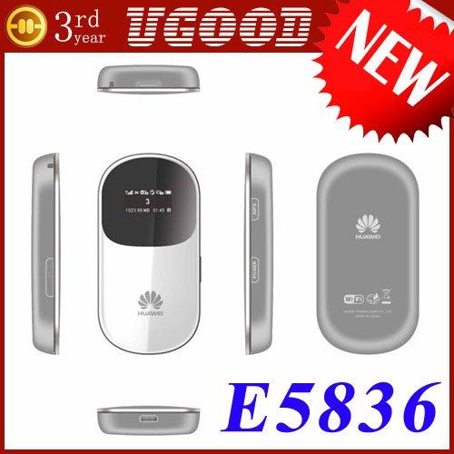 Huawei E5836 E5 Mobile MiFi WiFi Router Unlocked 7.2Mbps TriBand 3G