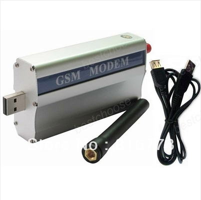 New GSM Modem for Wavecom Q2303A Wireless Module USB AT Commands