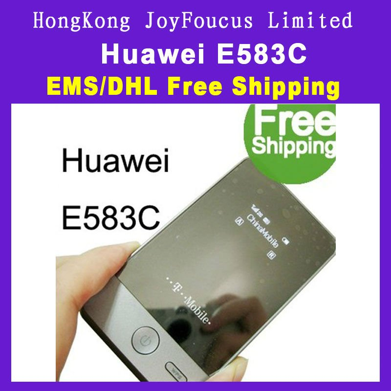 UNLOCKED HUAWEI E583C Portable 3G HSDPA MIFI WIFI Mobile Broadband Wireless Modem Router 7.2MBPS Dropshipping