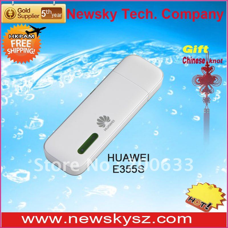 Attractive Appearance Ultrathin HSPA+ 21.6Mbps HUAWEI E355 Support 5 Wireless Devices Simultaneously