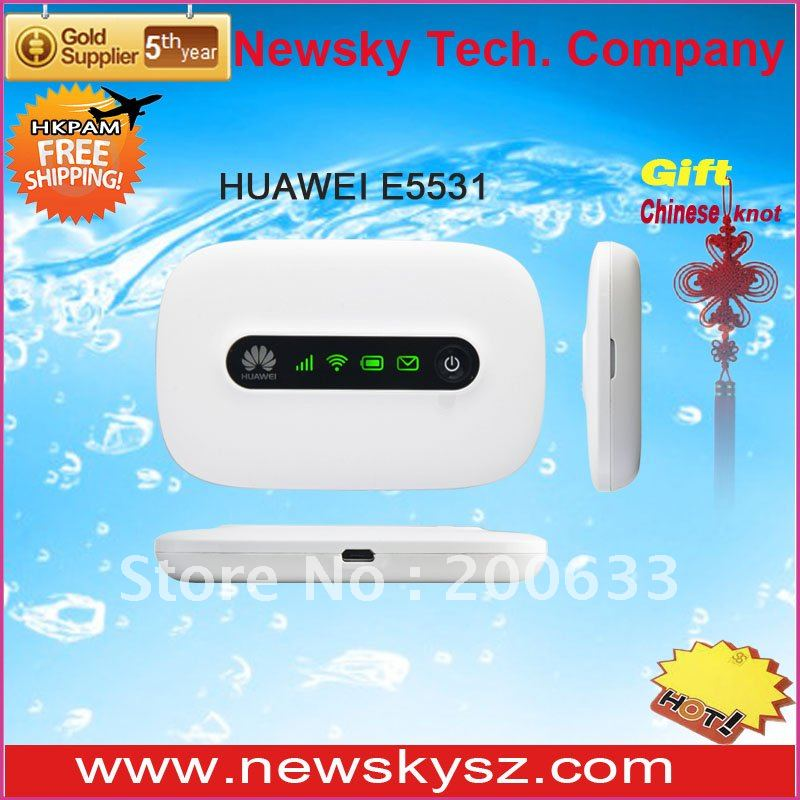 Revolutionary Design LED Display 1500mAH Battery 21.6Mbps HSPA+ HUAWEI Wireless 4G Router E5331 Hongkong Post Free
