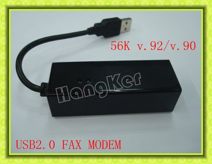 USB 2.0 fax modem,56k V.92/V.90 external fax modem