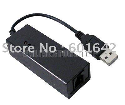 USB 56K Fax Modem External Data Voice V9.2/V9.0