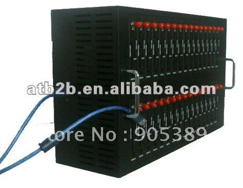 New modem!!! factory price 32 Ports 2303 usb bulk sms sending Modem Pool