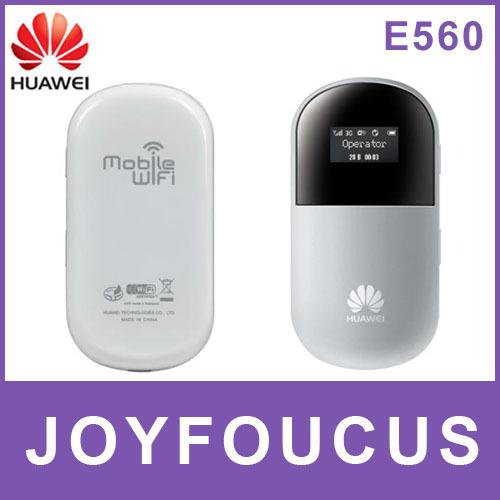 Free shipping via China Post / Hong Kong  Air Mail,3pcs/lot,New Unlocked HUAWEI E560 mobile WIFI Modem 3G Router,by kim