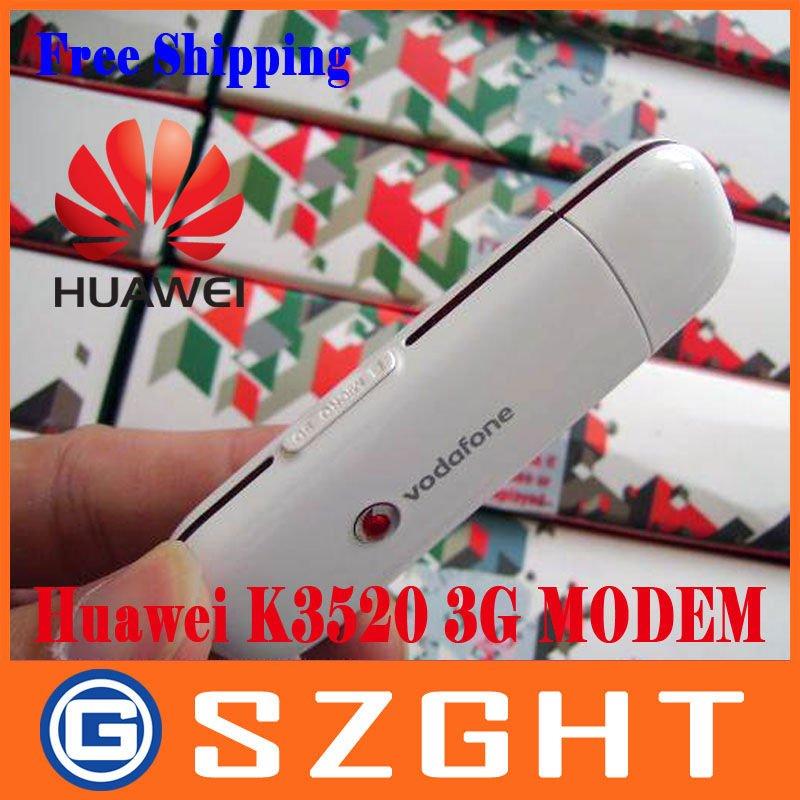 Huawei K3520 3G/2G Modem,HSDPA/HSUPA/UMTS(WCDMA),Ship by China/HK Post,Freeshipiing
