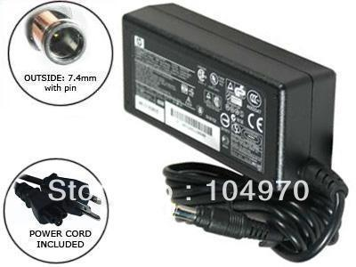 Genuine Hp 90W 19V 4.74A AC Adapter 90W Original AC Adapter Charger For HP Elitebook 8540p 8440p 8540w 8740w 2530p
