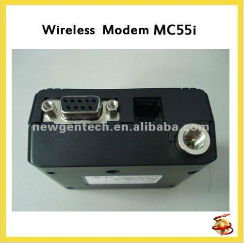 With SMS Rs232 GSM Modem MC55IT