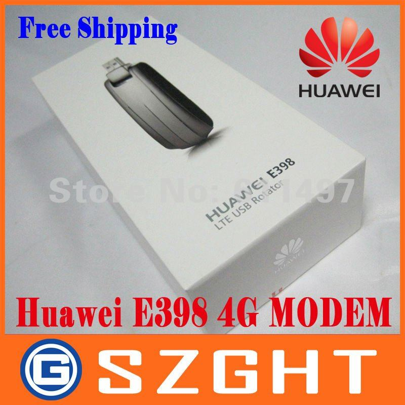 DHL/EMS Free shipping 4G HuaWei E398 4G LTE test special Modem 100Mbps wireless unlocked WIFI