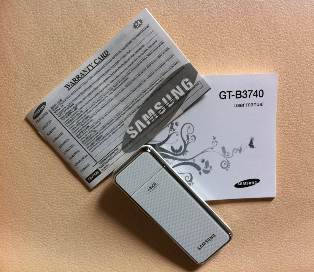 LTE MODEM 4G WIRELESS MODEM GT-B3740 in stock with white color