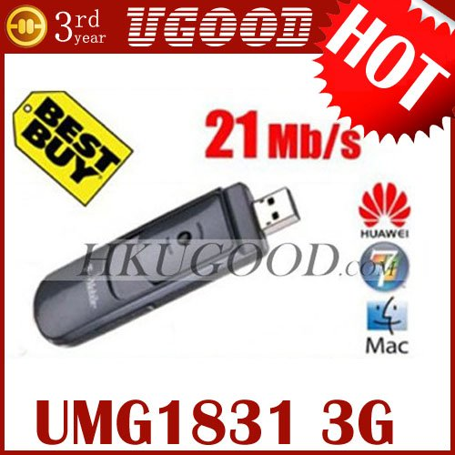 Unlocked Huawei UMG1831 21mbps Usb 3G Wireless Modem K4505