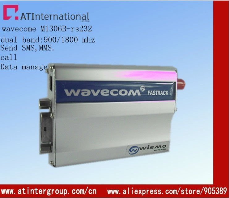 GSM modem Quad band for 850, 900, 1800 and 1900MHz
