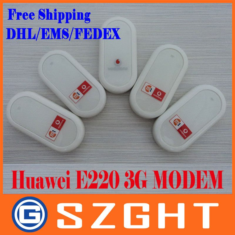 Freeshipping Cheap HUAWEI E220 3G HSDPA USB MODEM 7.2Mbps wireless network card ,support google android tablet PC