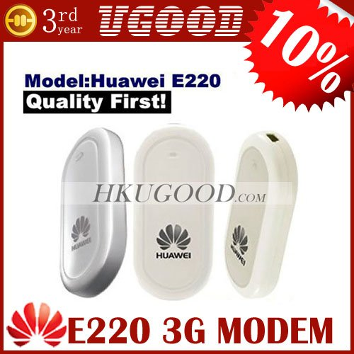 Huawei E220 2100MHz 3.6Mbps 3G HSDPA MODEM Support VIA 8650 Android Tablet PC