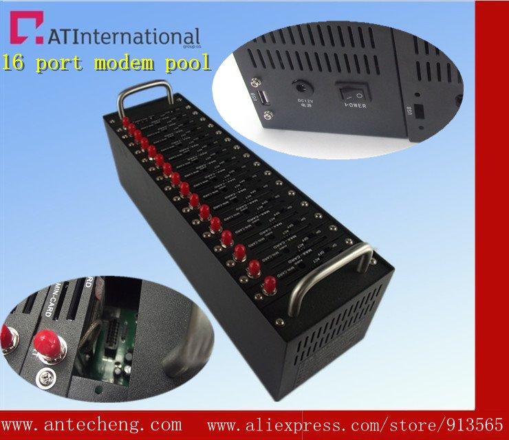 16 port modem pool Q24plus