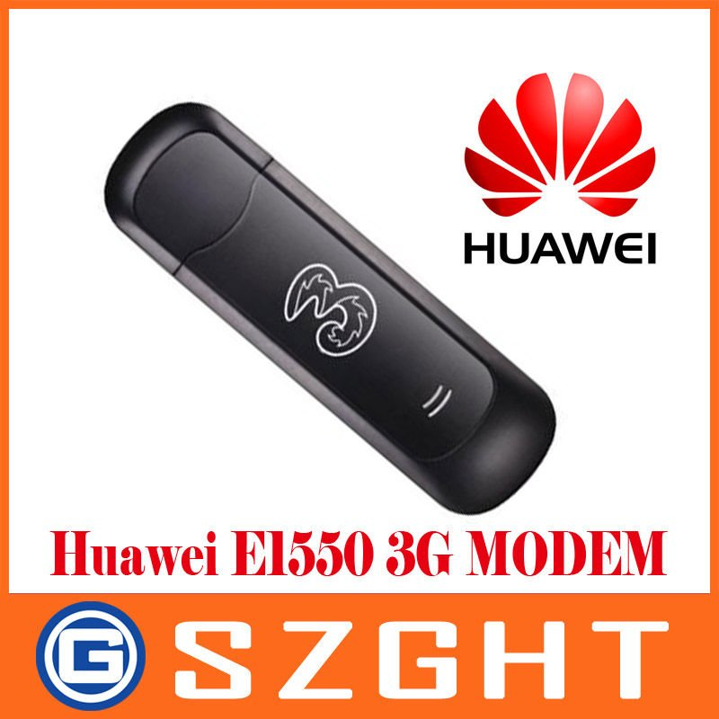 Unlocked Huawei E1550 3G/2G Modem,HSDPA/WCDMA/EDGE/GPRS/GSM,for your laptop/notebook