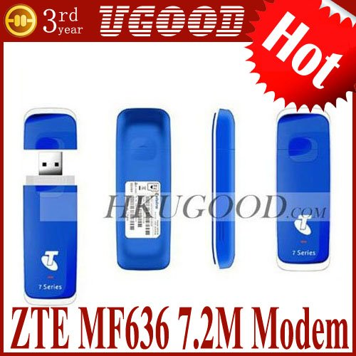 Cheap Hot ZTE MF636 USB 3G Wireless 7.2M Modem