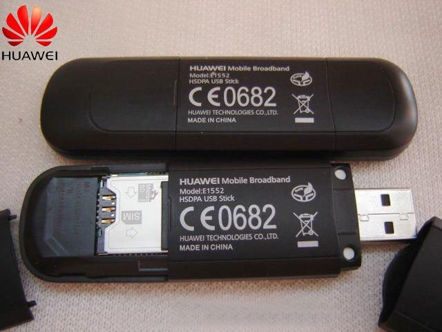 Unlocked Huawei E1552 3G Wcdma Usb Dongle Wireless Hsdpa Modem Freeshipping