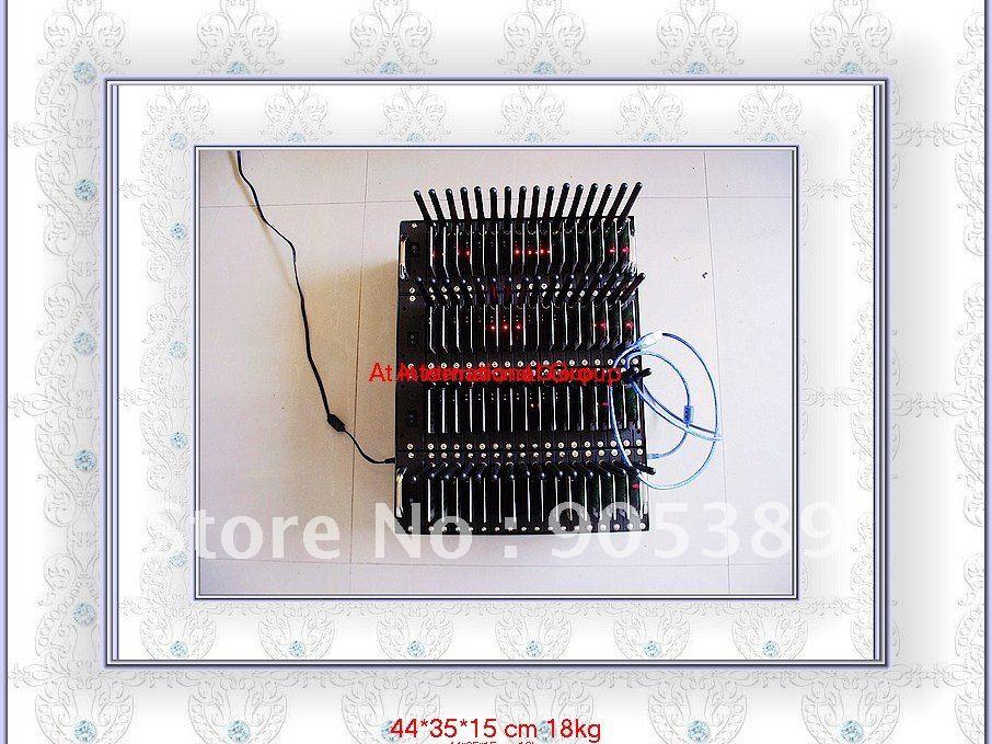 New modem!!! 64 Ports 2686 quad band usb bulk sms sending Modem Pool one usb cable