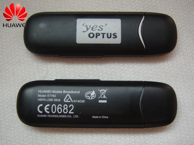 Unlocked Huawei Mobile Broadband HSPA USB Stick E1762 for Yes Optus