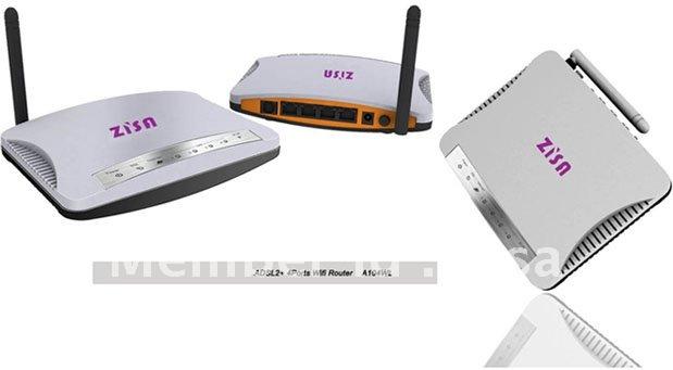 4Port ADSL2+ Wireless Modem