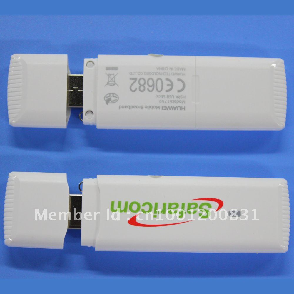 Free shipping Huawei E1750 HSUPA HSDPA 3.5G USB Dongle Modem For Notebooks & Tablet PC's