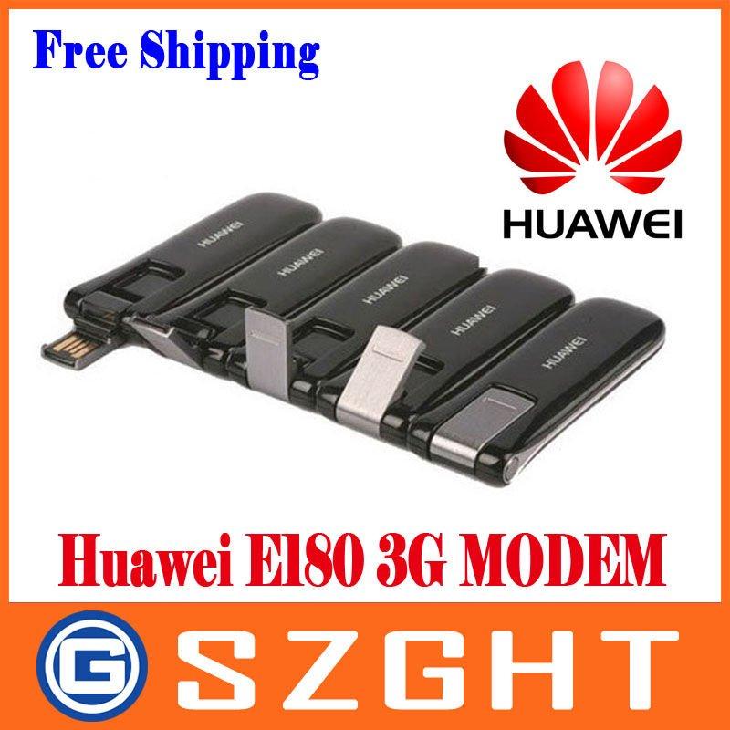 Free Shipping Original Brand new unlocked HuaWei E180/E182e/E1820 HSUPA/HSDPA Modem 7.2/5.76Mbps 3G