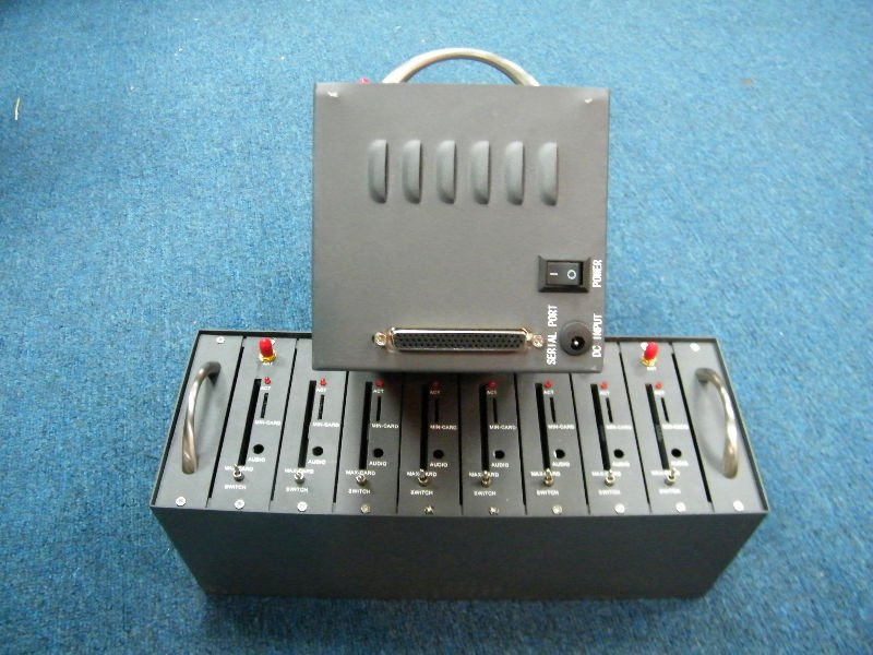 Free Shipping 8 card slots Industrial GSM Modem Pool Q2303