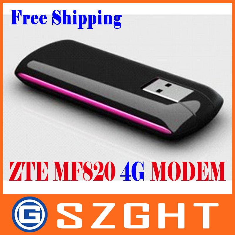 Free Shipping Unlocked ZTE MF820 LTE Modem 100M wireless usb modem LTE