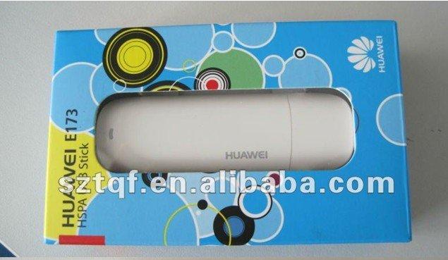 Huawei E173 Unlocked 7.2M Hsdpa USB 3G Modem 7.2Mbps Wholesale EMS/DHL Freeshipping