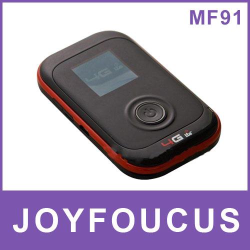 3pcs/lot  EMS/DHL  Free shipping ZTE MF91 WIFI Unlocked 4G LTE FDD 100Mbps mobile wifi hotspot , by kim