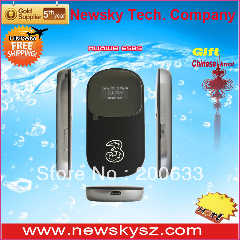 Unlocked HuaWei Router E585 with high speed