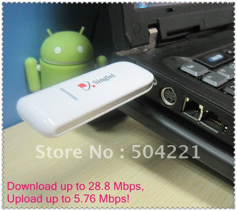 3G Huawei E1820 Modem 21.6M Wireless Broadband Unlocked,Freeshipping by China Post